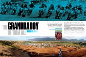 The World Mini Grand Prix launched the phenomenon of amateur motocross racing in America. We look back on its influential history as it celebrates its fortieth birthday. Page 170.