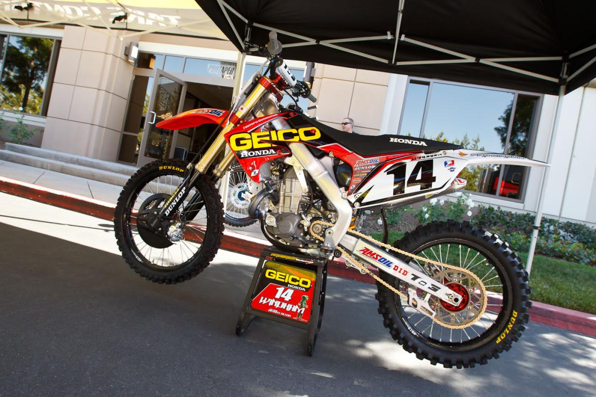 K-Dub's 450 from Vegas on show