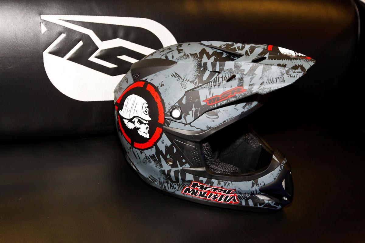 MSR/Metal Mulisha Scope helmet