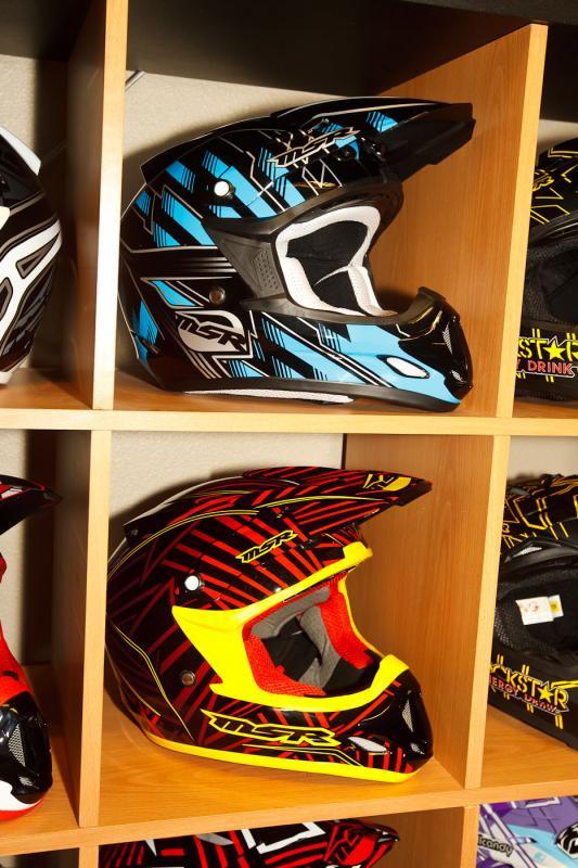 MSR Velocity helmets