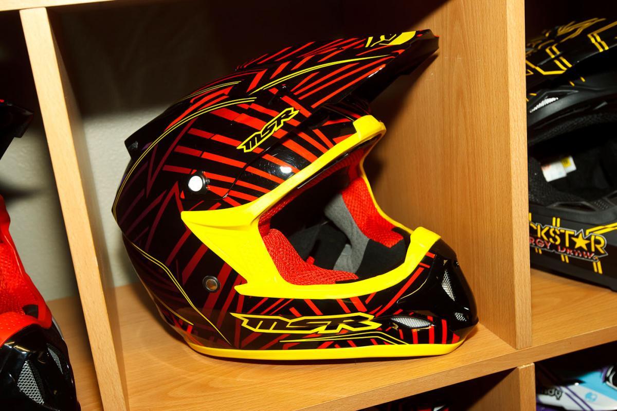 MSR Burst helmet