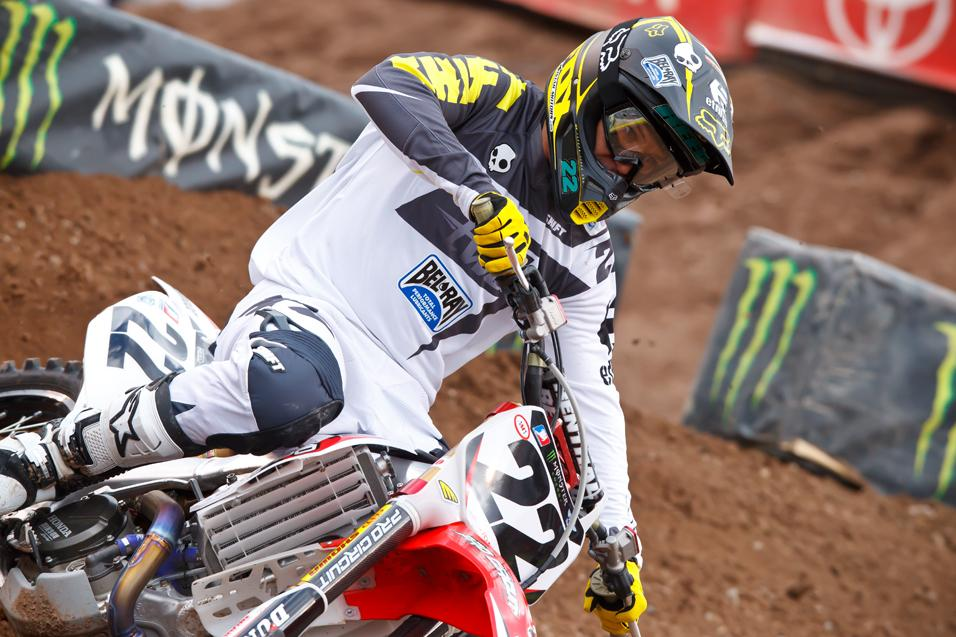 <strong>Between the Motos:</strong><br /> Chad Reed