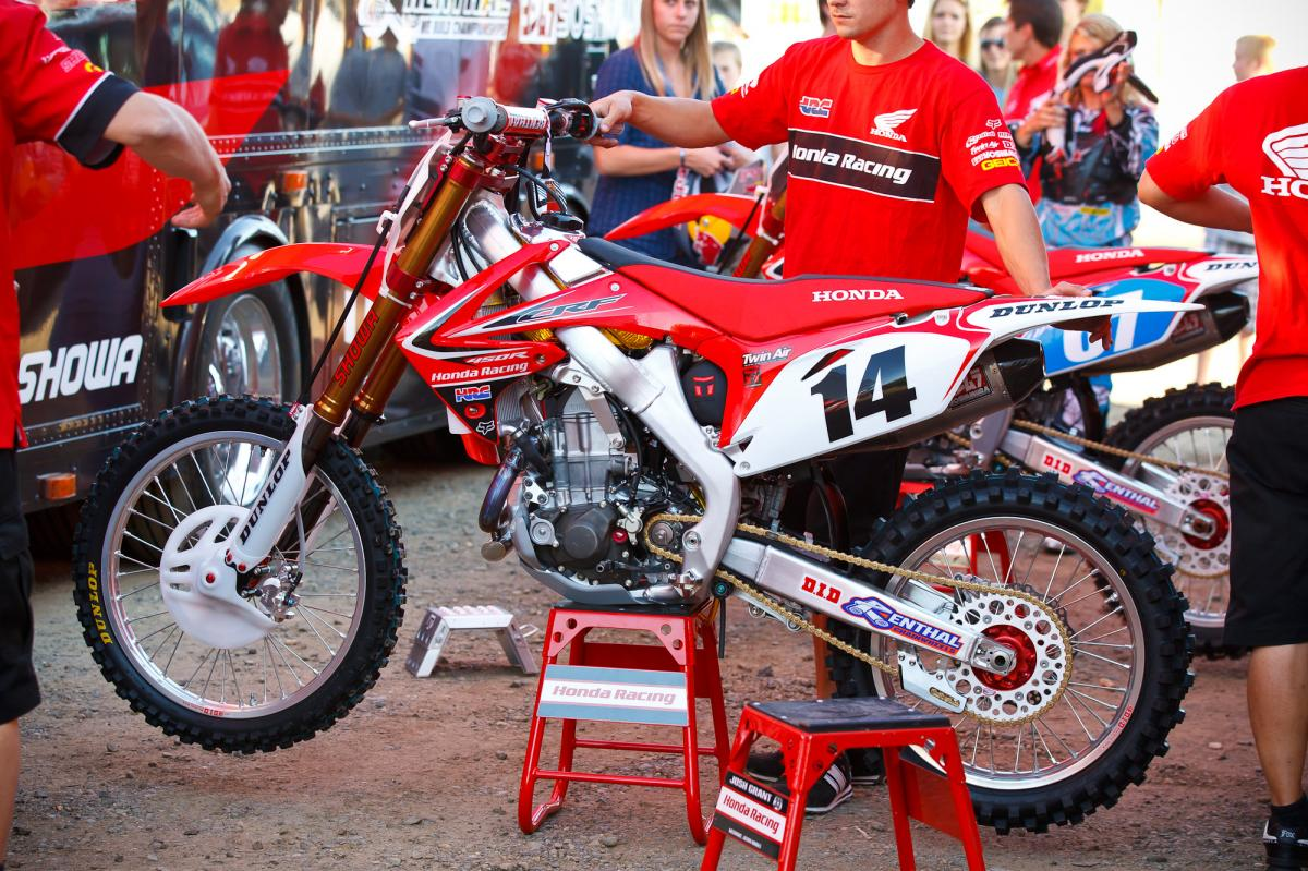 Kevin Windham's Factory Honda