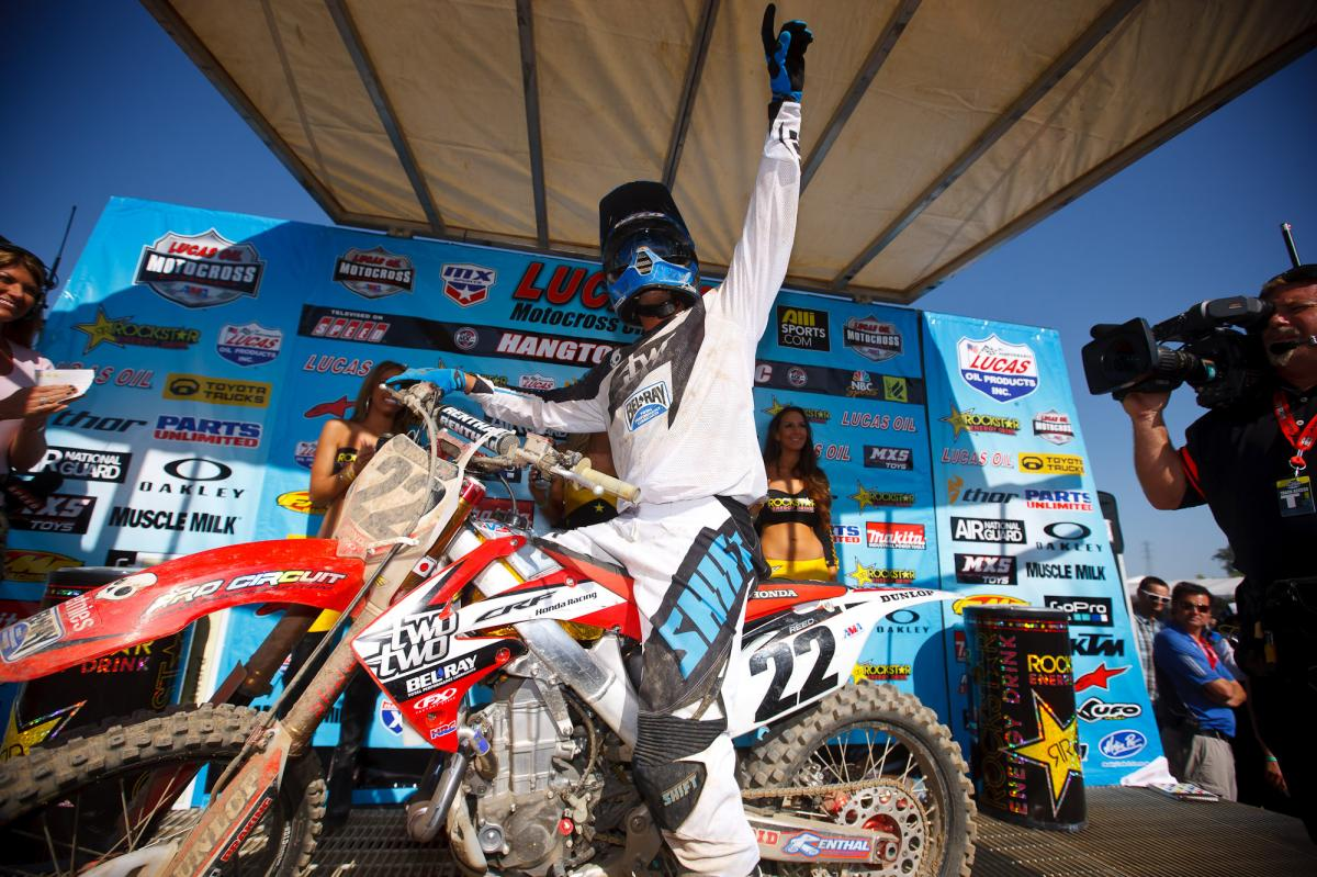 Chad Reed take the win