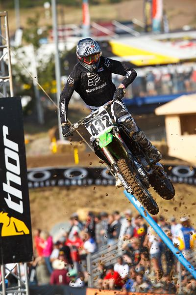 Robby Bell / 450 / 22nd O/A / Precision Concepts, Fox Racing, Alpinstars, Kawasaki