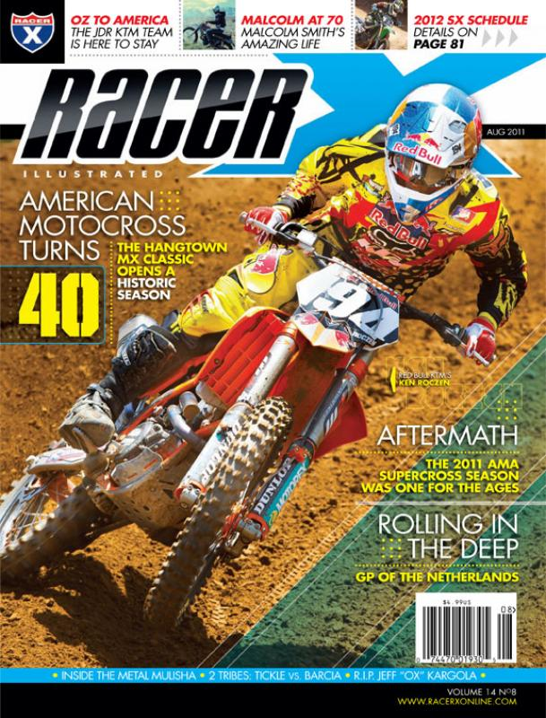 The August 2011 Issue - Racer X Illustrated Motocross Magazine