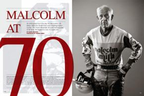 Now entering his eighth decade, Malcolm Smith is the world's most influential off-road motorcyclist. We got him to slow down just long enough to take a look back at his profoundly eventful career. Page 168.