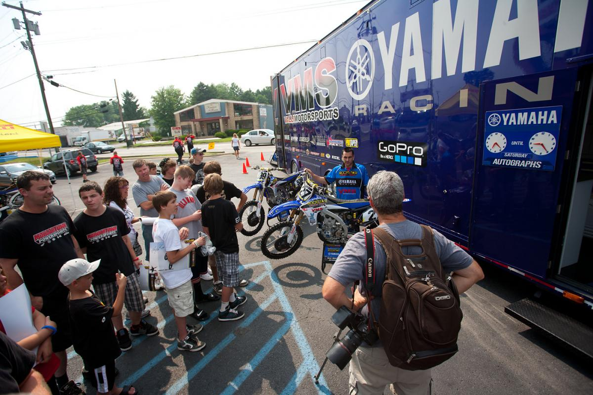 VitalMX.com was also on hand doing some video.
