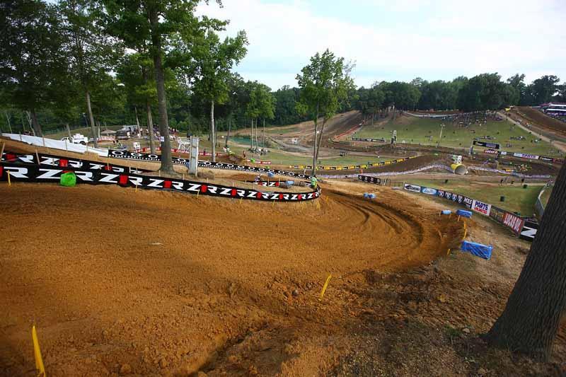 The track looks pristine.