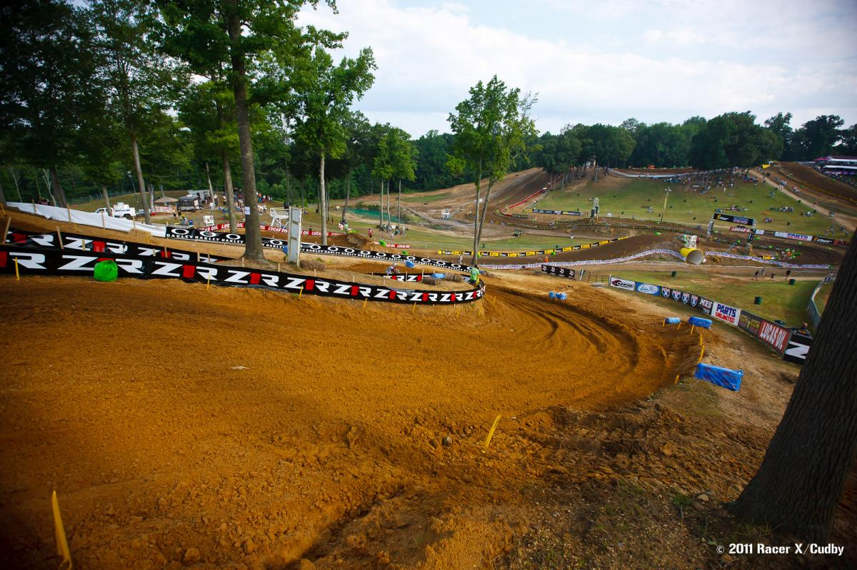 Budds Creek track