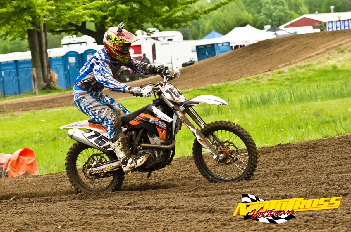 Jim Wazny put in some strong rides and was rewarded for his efforts with a podium finish.