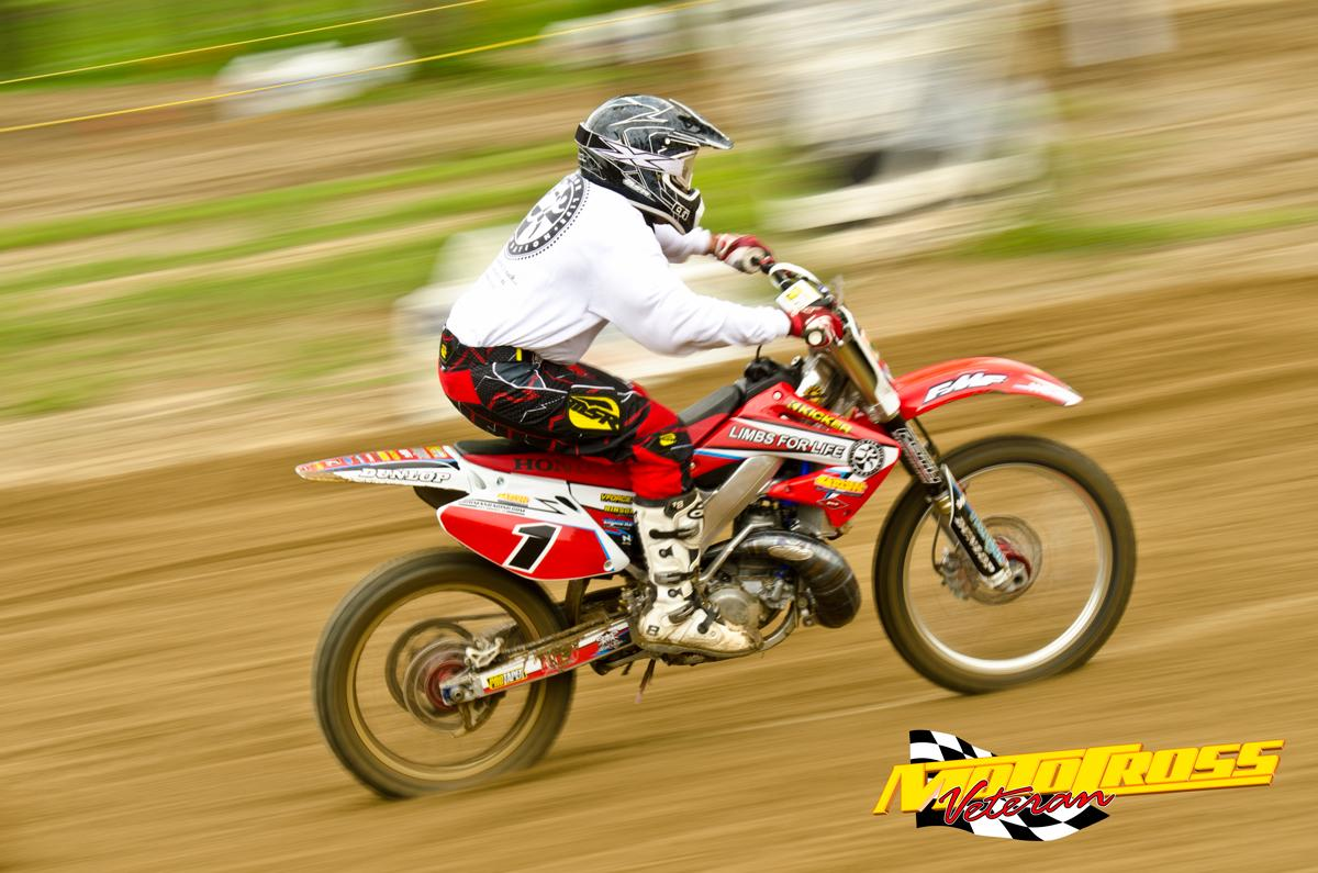 Chris Ridgway was crazy fast but had some mechanical problems that prevented him from contending for a podium finish.