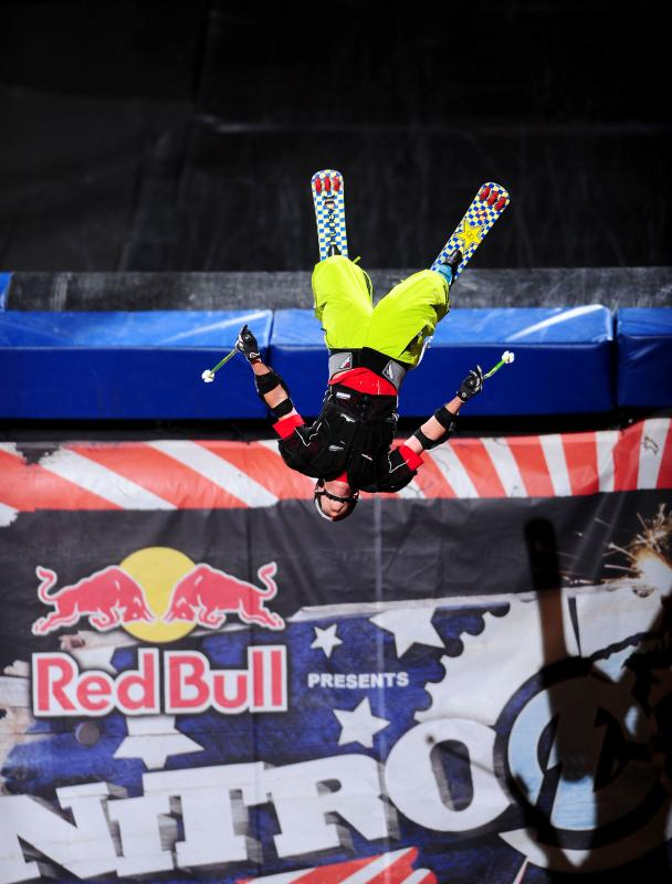 Skier / Eric Roner (USA)2010 Nitro Circus Live Tour Acer Arena Sydney Australia May 14th - 15th 2010© Sport the library/Jeff Crow