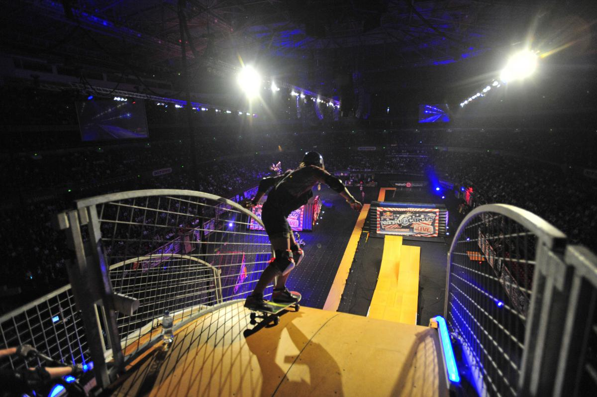 Nitro Circus Live - Australian Capital City Tour 2010May 14-15, 2010 - Acer Arena / Homebush (Sydney)Motorcycle - Freestyle Moto-x, skate, BMX© Sport the library/Courtney Crow