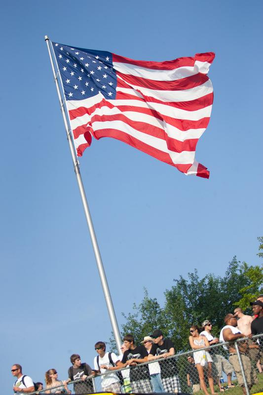 Big American Flag.