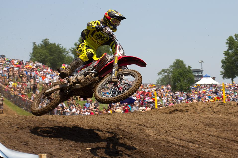 Sign Of The <strong>Lap Times:</strong> RedBud