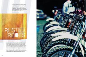 After a lifetime of riding current-model bikes, DC traveled to East Texas to brave the retro tech of Diamond Don's Riverport National Vintage Motocross. Page 174.