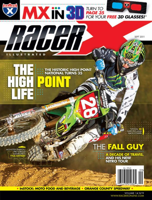 The September 2011 Issue - Racer X Illustrated Motocross Magazine