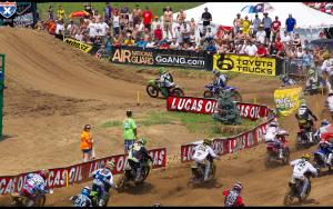 Dean WIlson leads the 250 Class