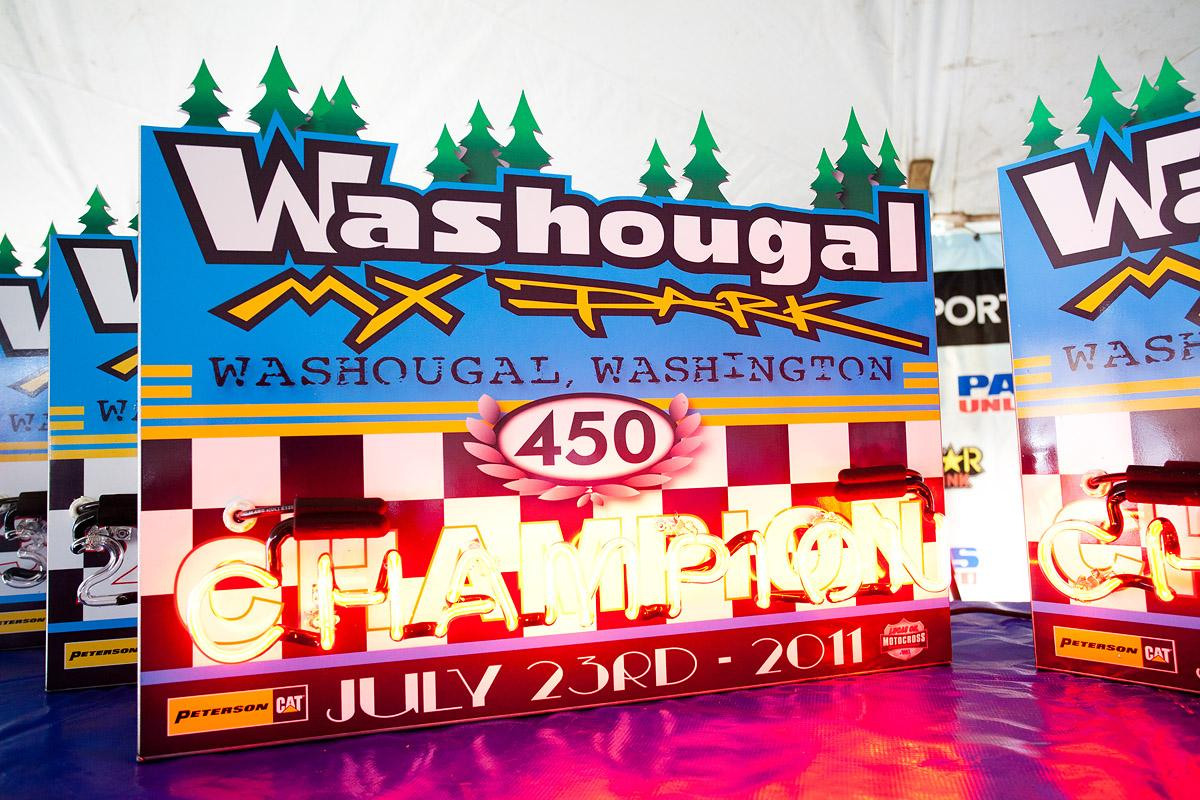 Cool new Washougal trophies.