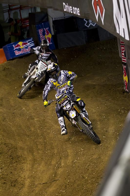 Mike Mason and Carey Hart