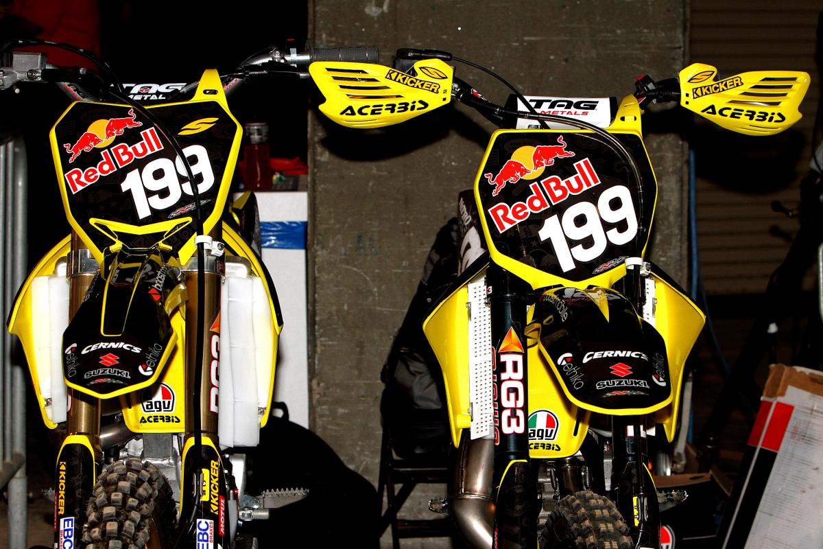 Travis Pastrana's bikes for X Games 17.