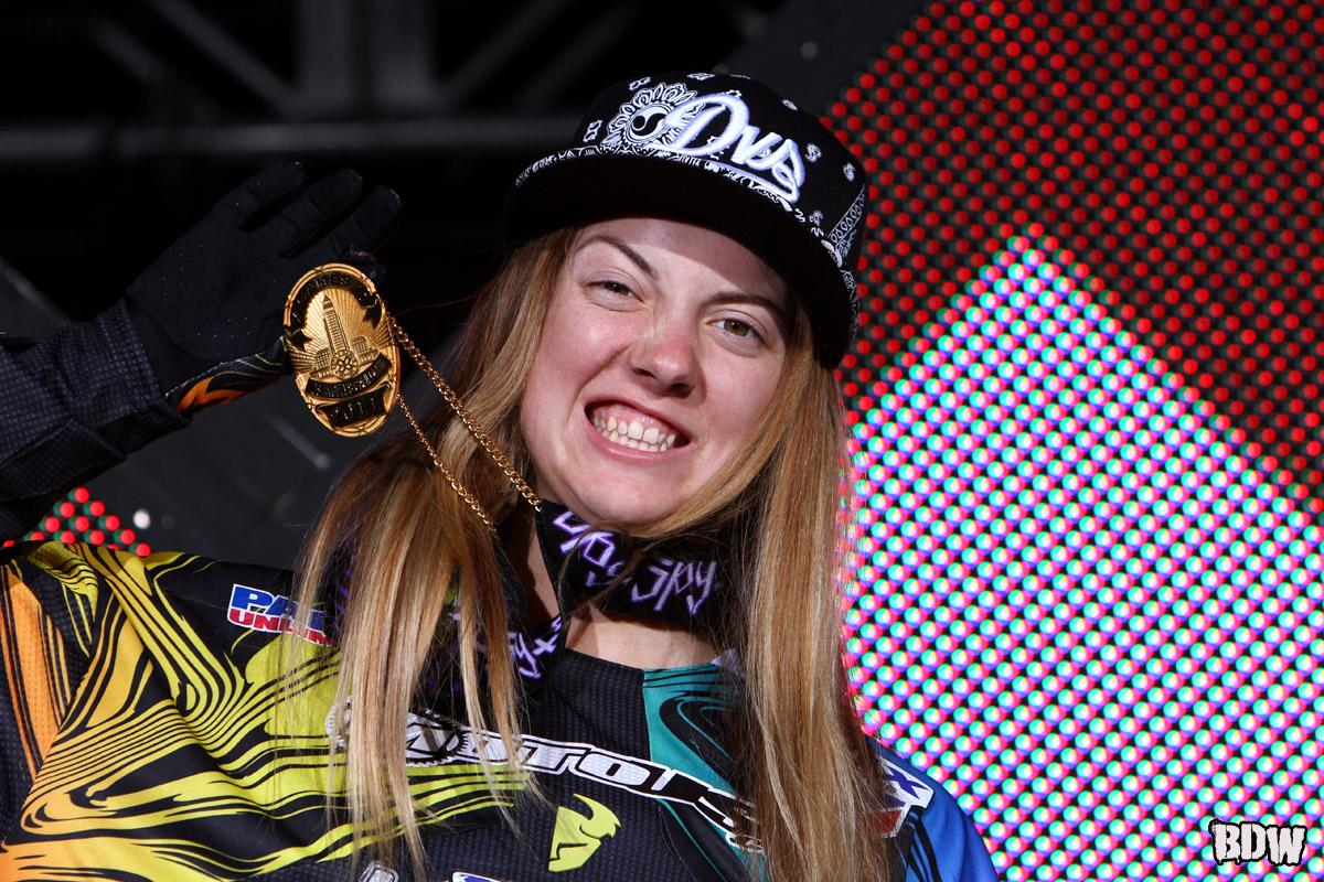 Vicki Golden went Gold at X Games 17.