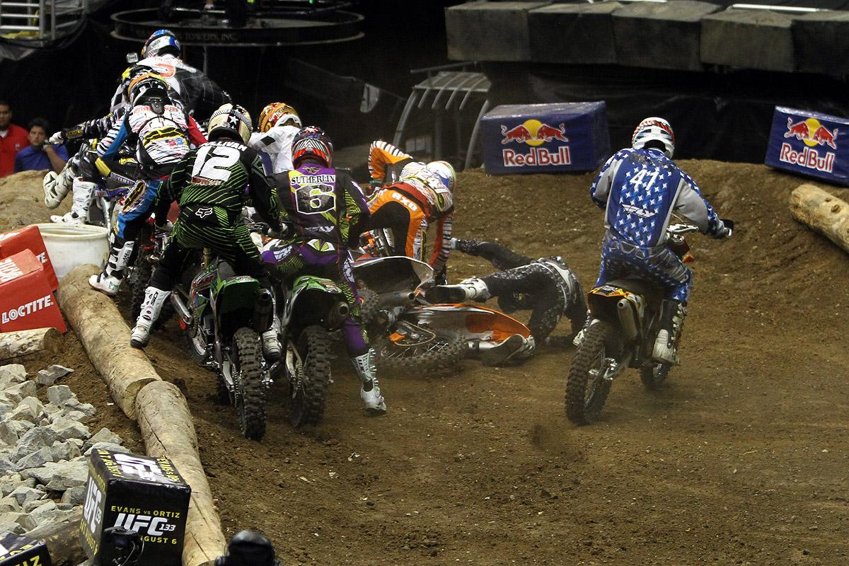 This was a common theme for Enduro X.