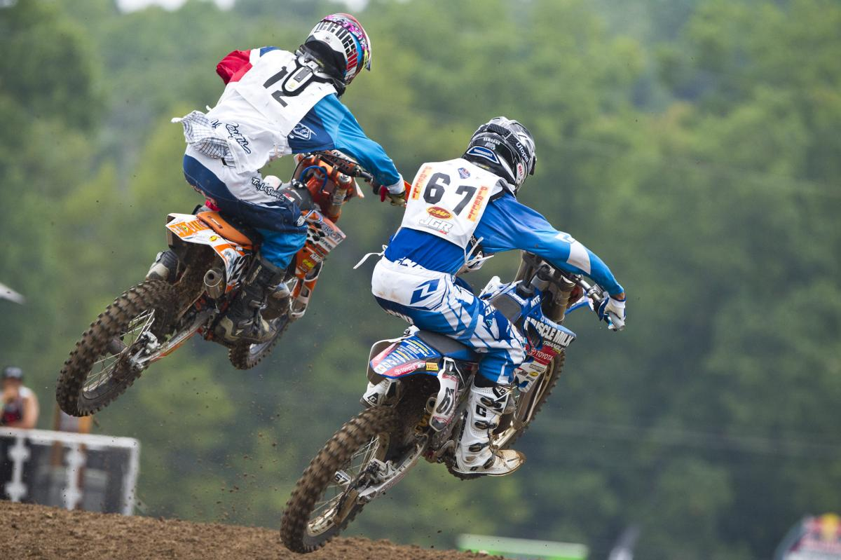 There was bar to bar action all week at Loretta's.