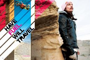 For Drake McElroy, the host of the new FUEL TV travel show Drake's Passage, life is one big adventure. Ping sat down with him for this exclusive Q&A. Page 184.
