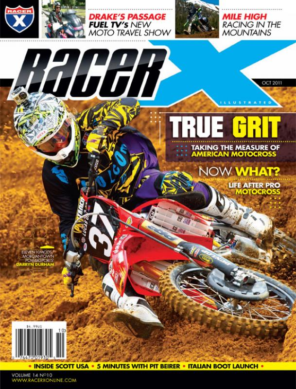 The October 2011 Issue - Racer X Illustrated Motocross Magazine
