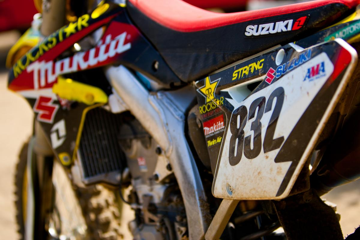 Josh Strang will be racing Unadilla this weekend.