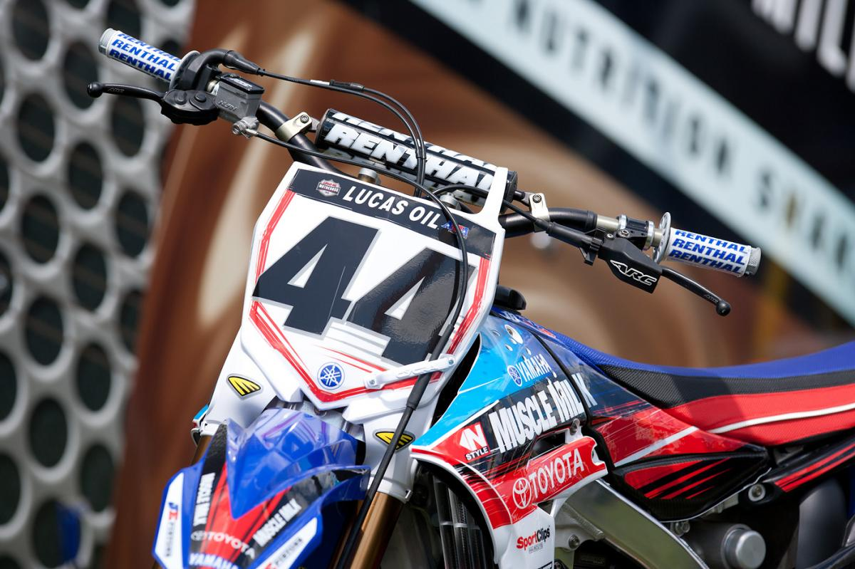 Les Smith is replacing the injured Davi Millsaps once again for the JGR team.
