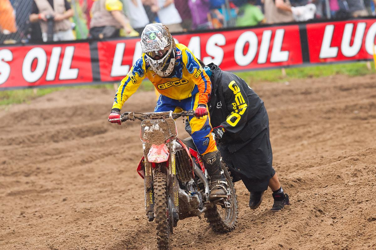 Bogle had troubles off the start in moto 1.