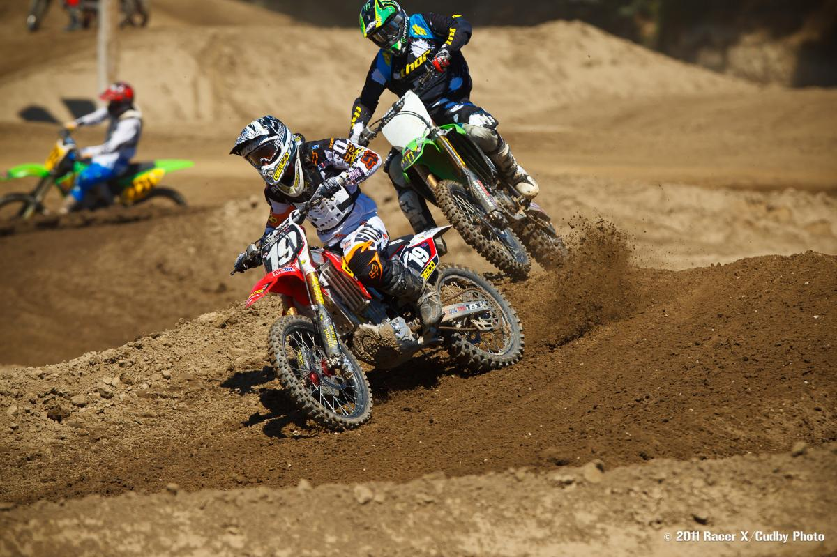 Eli Tomac and Ben Townley