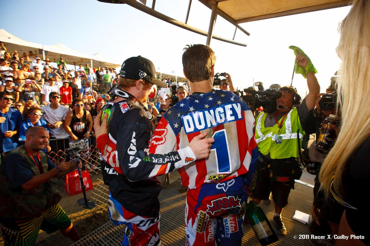 Ryan Villopoto and Ryan Dungey