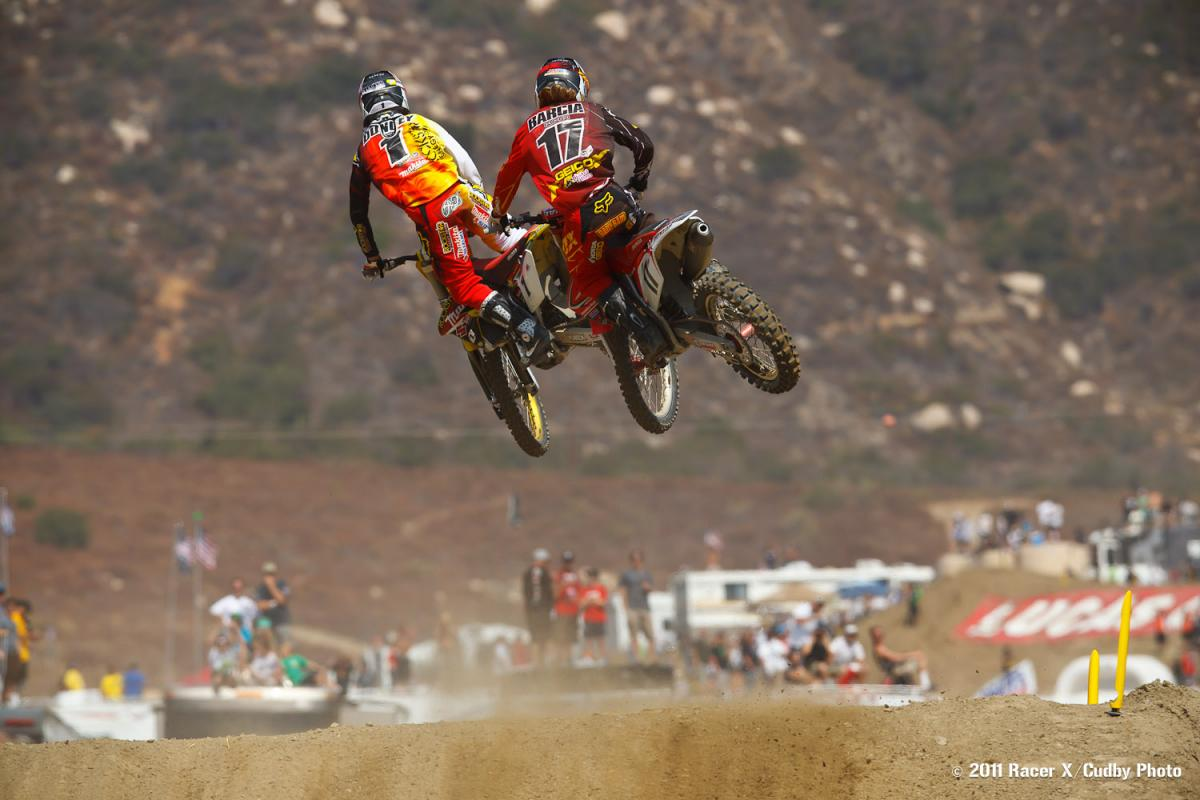 Ryan Dungey and Justin Barcia