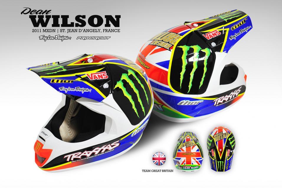TLD MXoN Helmets