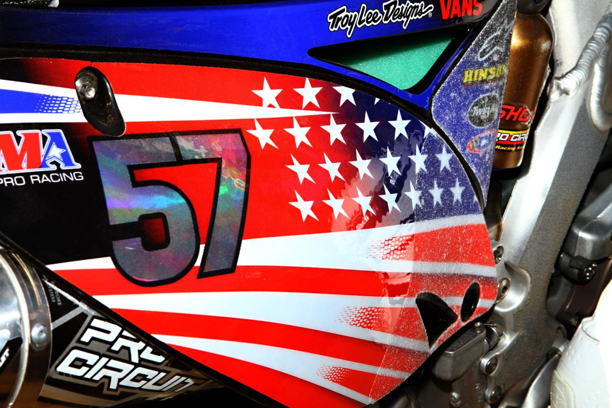 Blake Baggett's MXoN graphics