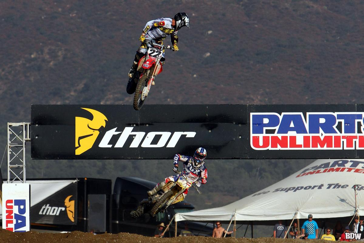 Chad Reed and Ryan Dungey