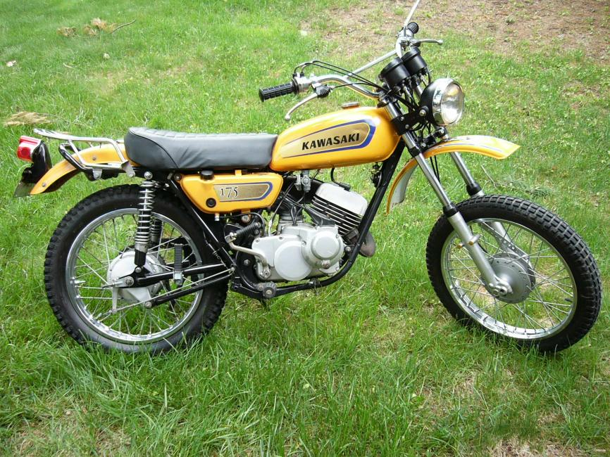 Your Collection: Kawasaki 175 F7 - Racer X Online