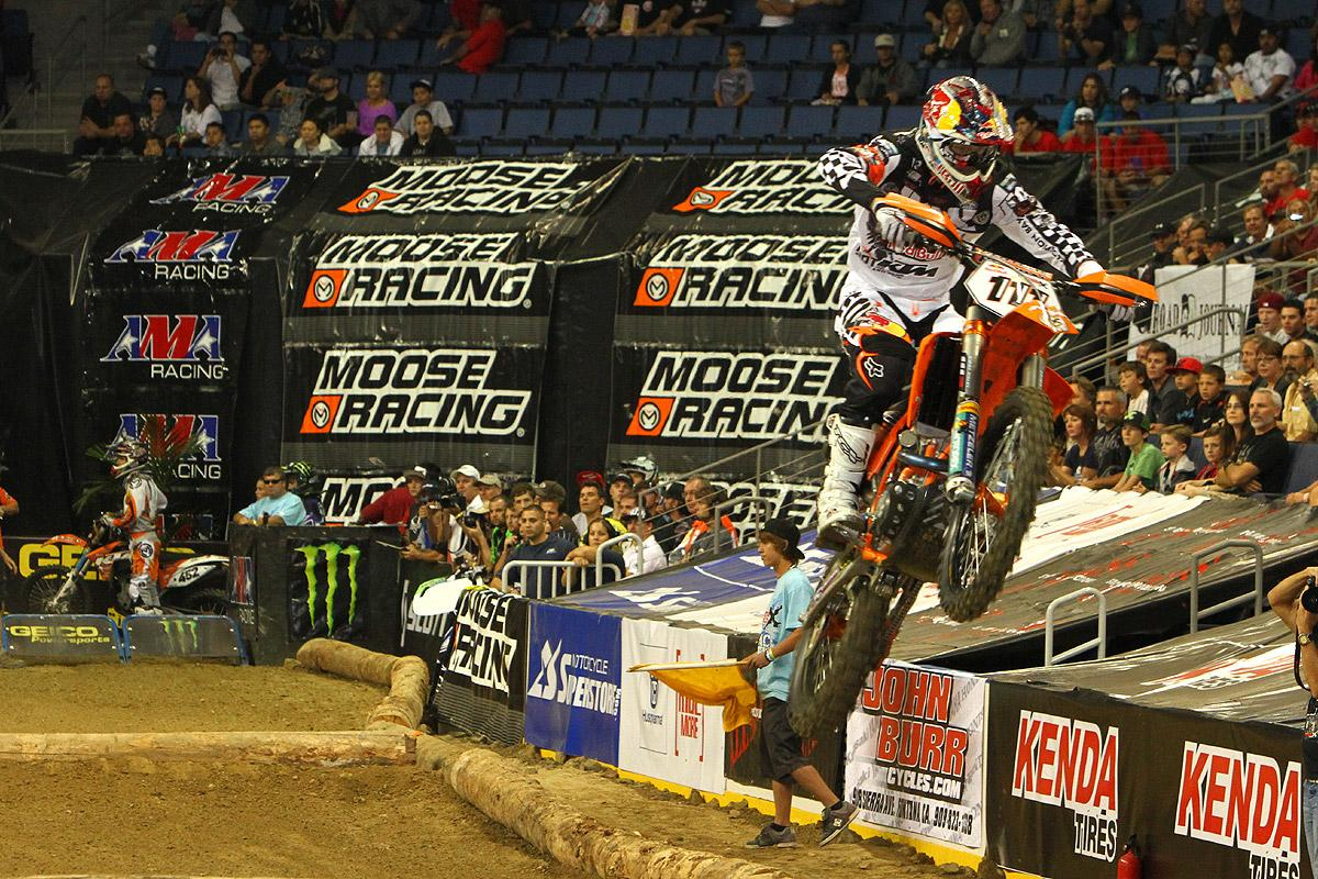 Taddy Blazusiak took the win in Ontario.