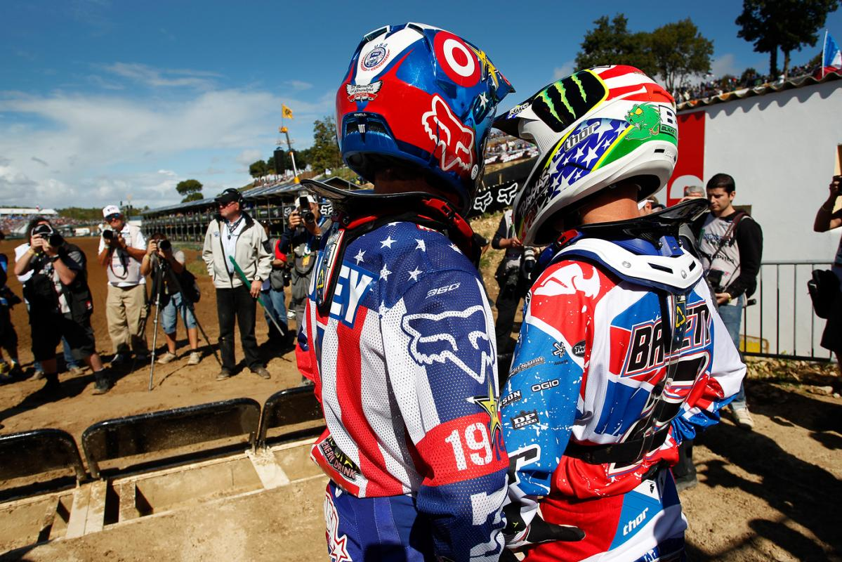 Ryan Dungey and Blake Baggett