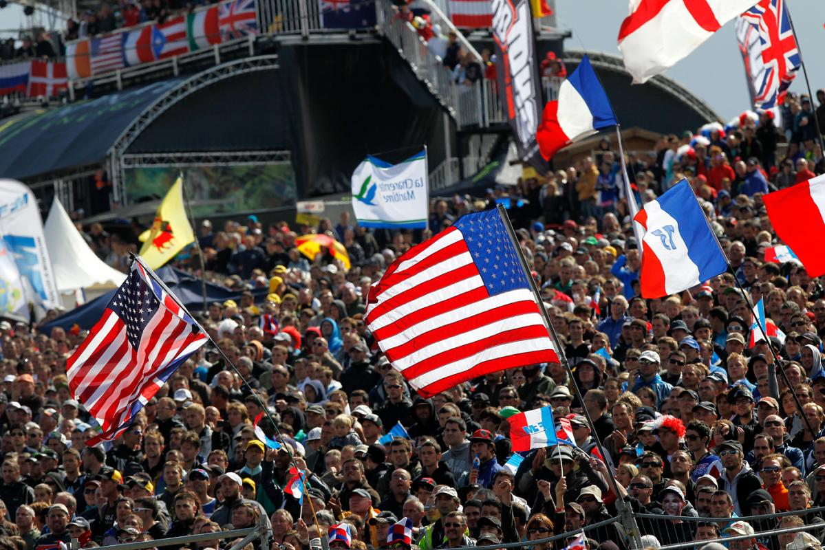The crowds were massive for the 2011 Motocross of Nations