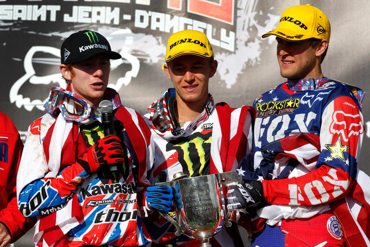 Villopoto, Bagggett, and Dungey