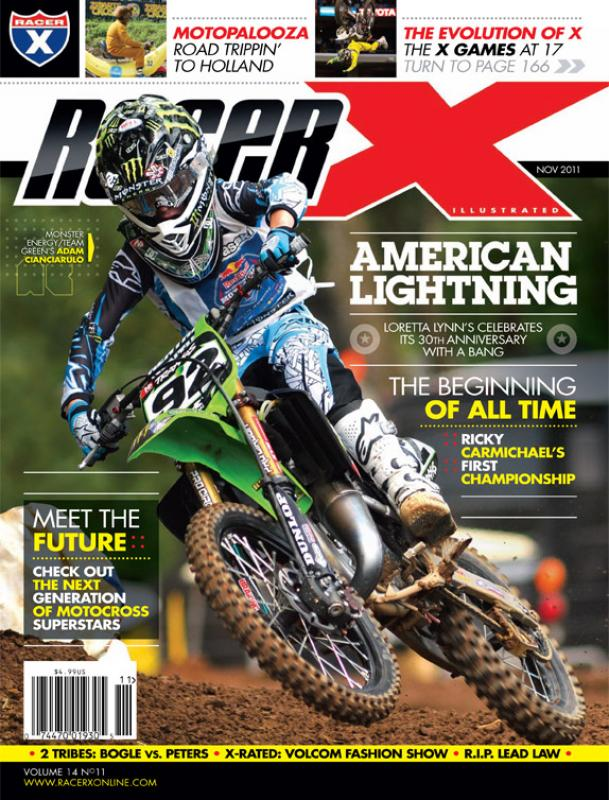 The November 2011 Issue - Racer X Illustrated Motocross Magazine