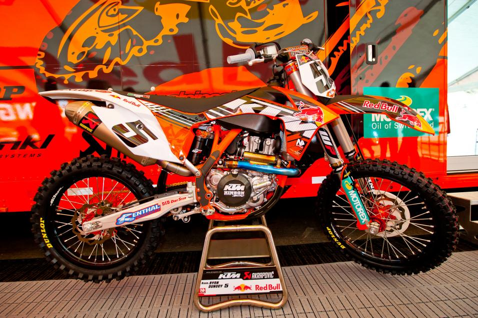 Red Bull/KTM Ryan Dungey Gallery