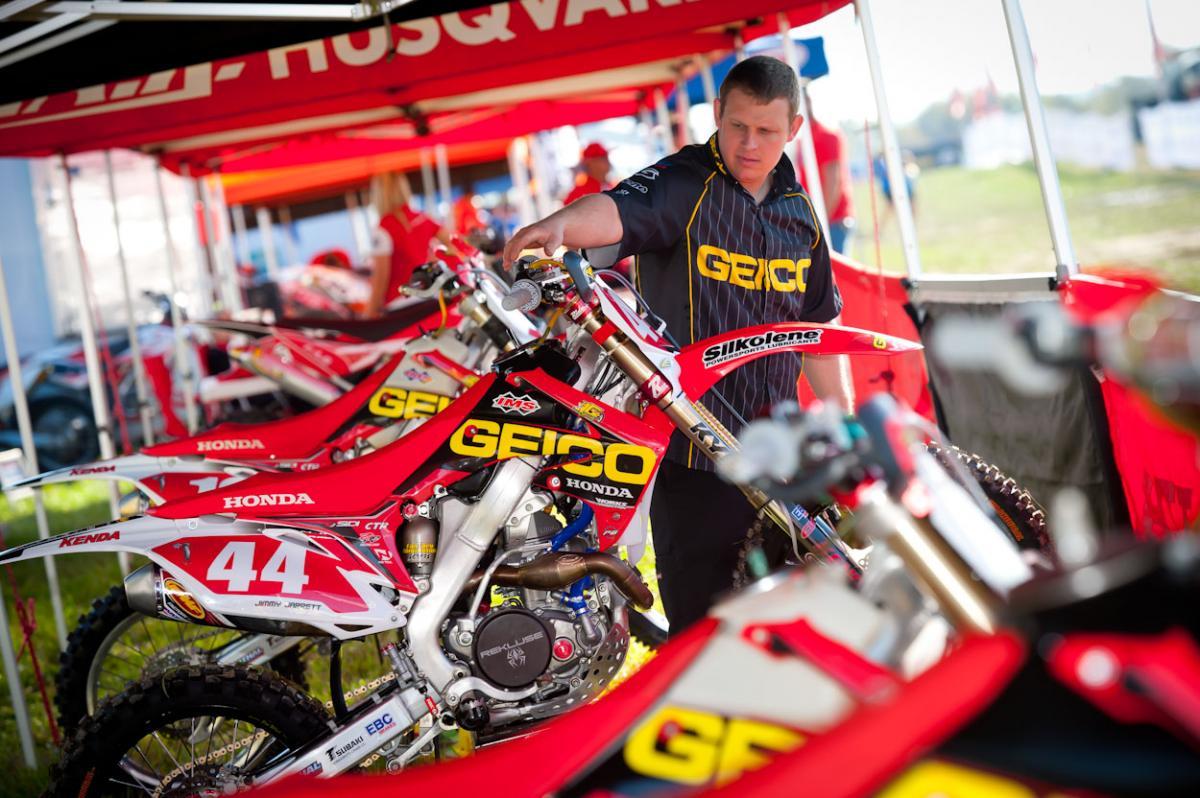 JG Offroad/GEICO Honda
