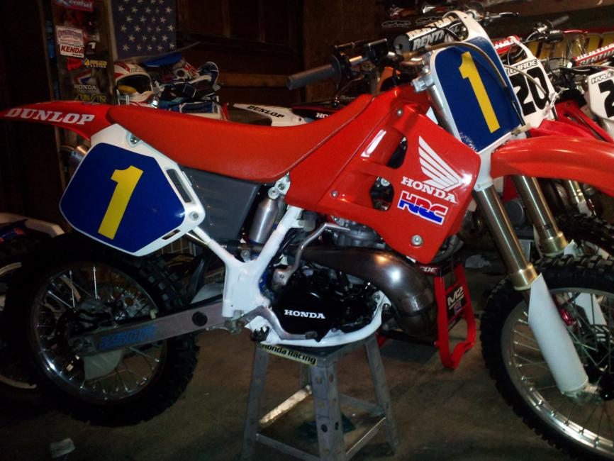 Free Stuff On Craigslist >> Your Collection: 1990 Stanton Replica CR250 - Racer X Online