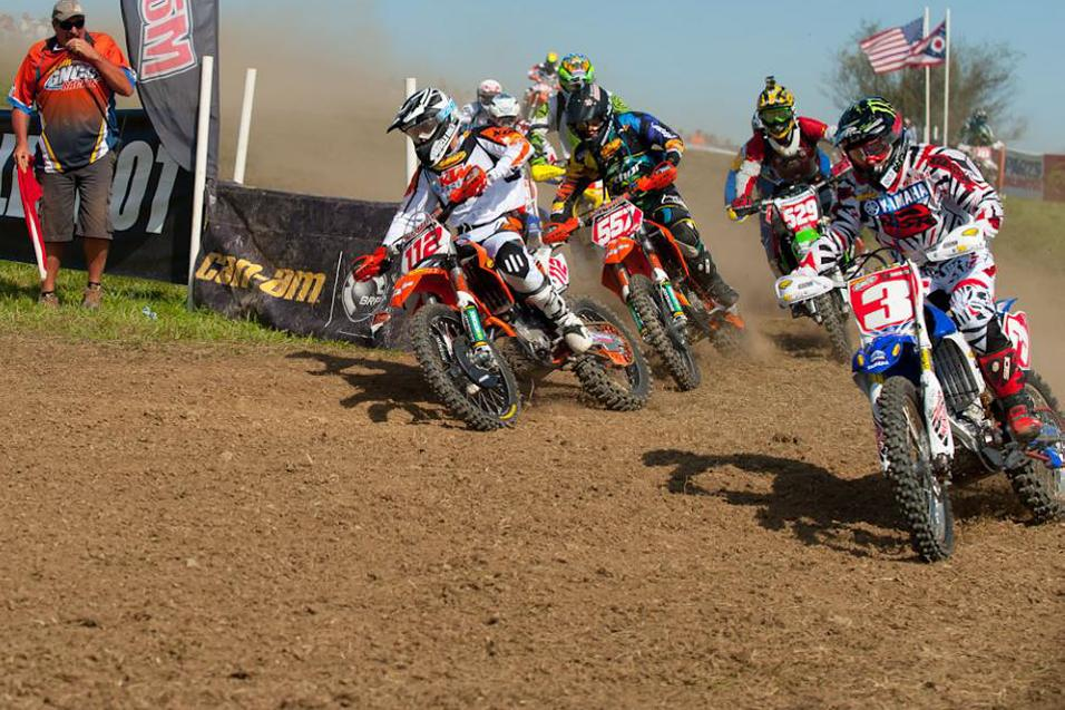Sign of the<br /> <strong>Lap Times:</strong> GNCC